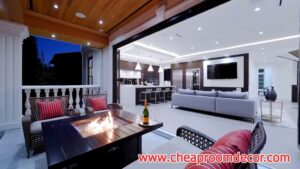 Simple small living room ideas for lighting and colors (2)