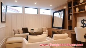 Simple small living room ideas for lighting and colors (8)