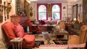 Simple small living room ideas for lighting and colors (9)