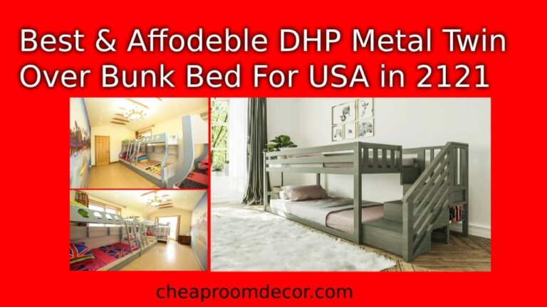 Best Affodeble DHP Metal Twin Over Bunk Bed For USA in 2121