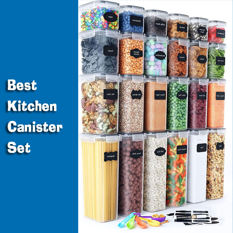 Kitchen Canister Set one by one