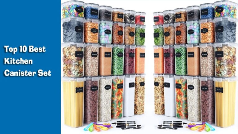 Top 10 Best Kitchen Canister Set for USA in