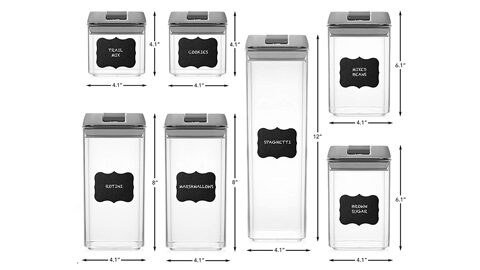 shazo airtight container set for food storage